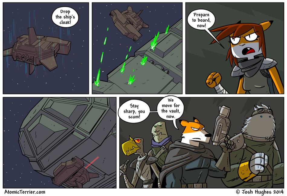 Atomic Terrier comic 502