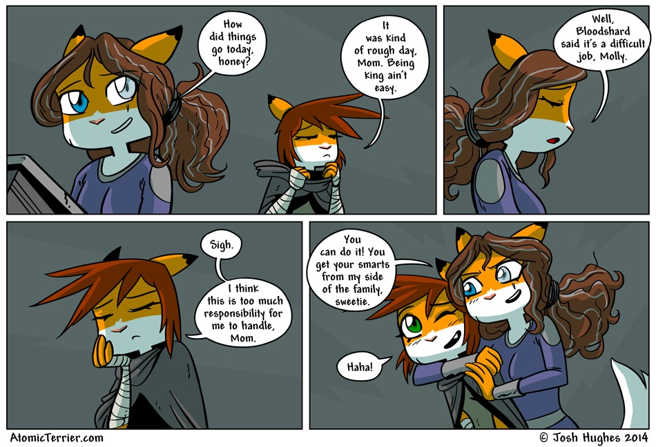 Atomic Terrier comic 514