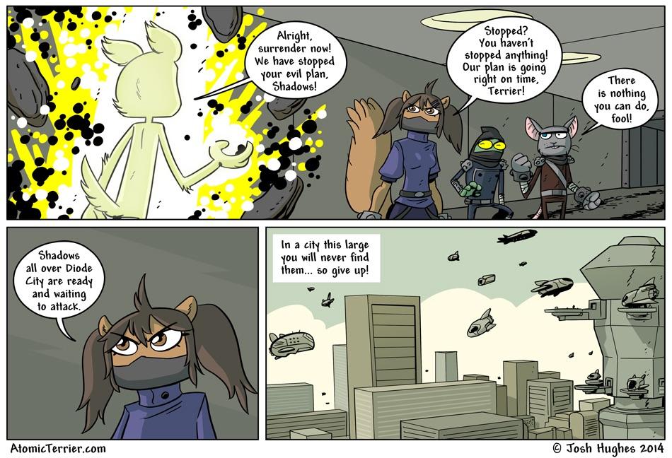 Atomic Terrier comic 541