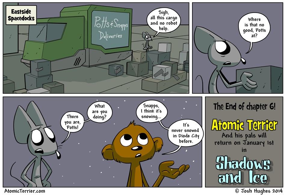 Atomic Terrier comic 543