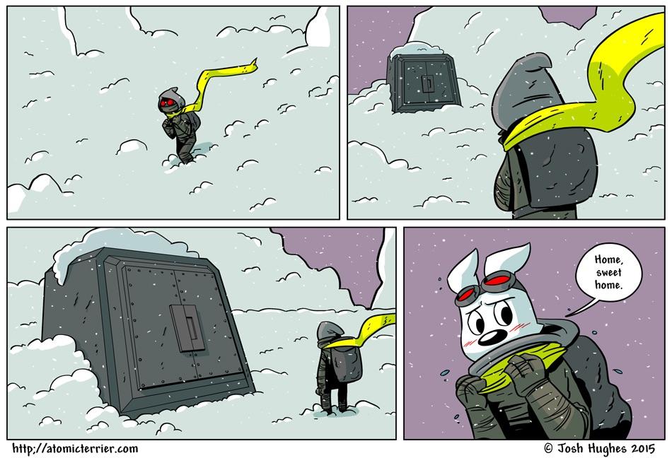 Atomic Terrier comic 544