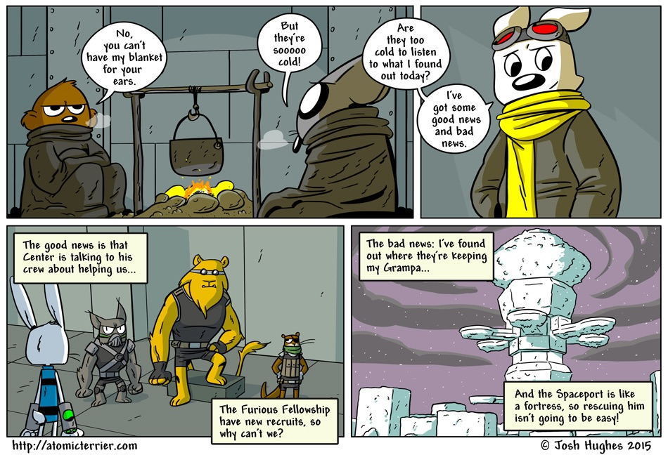 Atomic Terrier comic 545