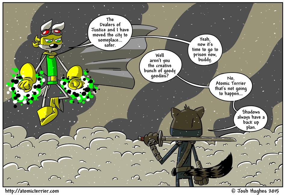 Atomic Terrier comic 565