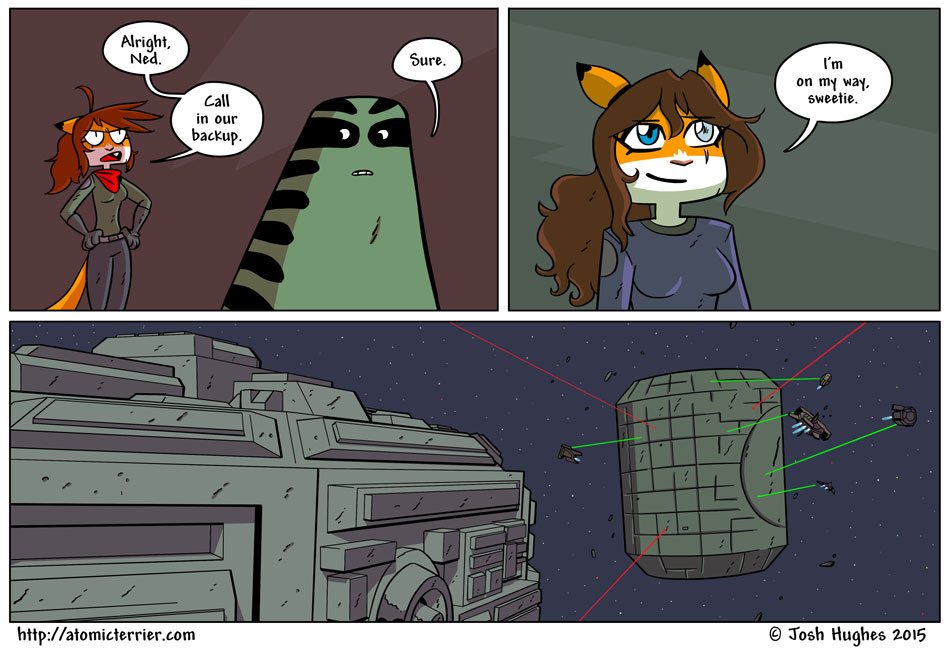 Atomic Terrier comic 578
