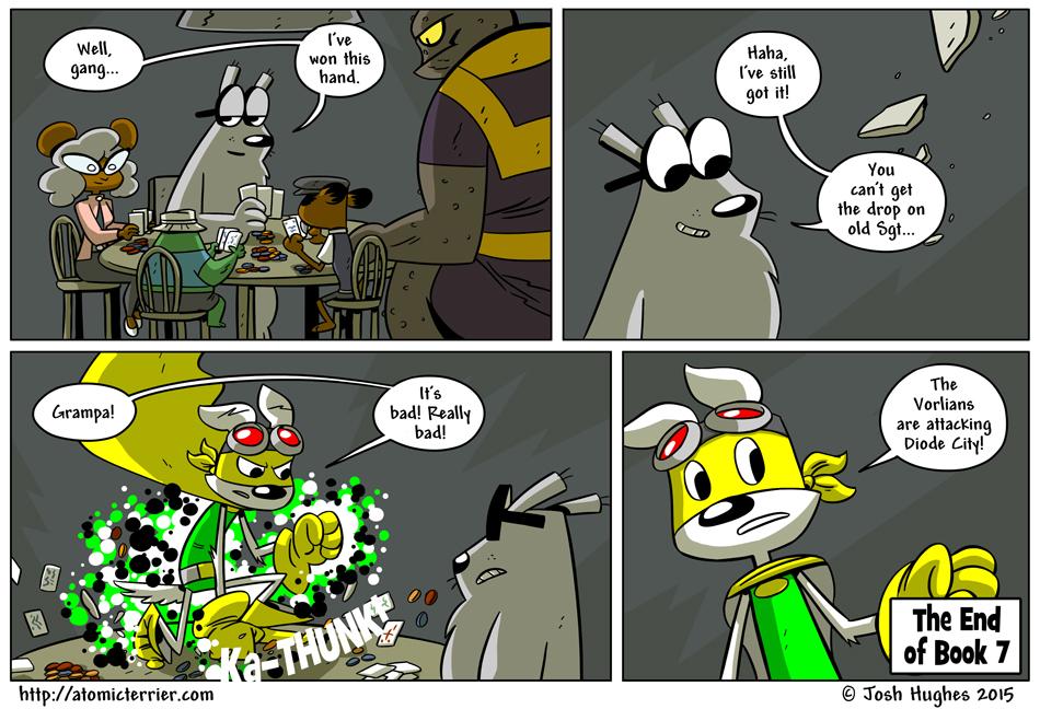 Atomic Terrier comic 599