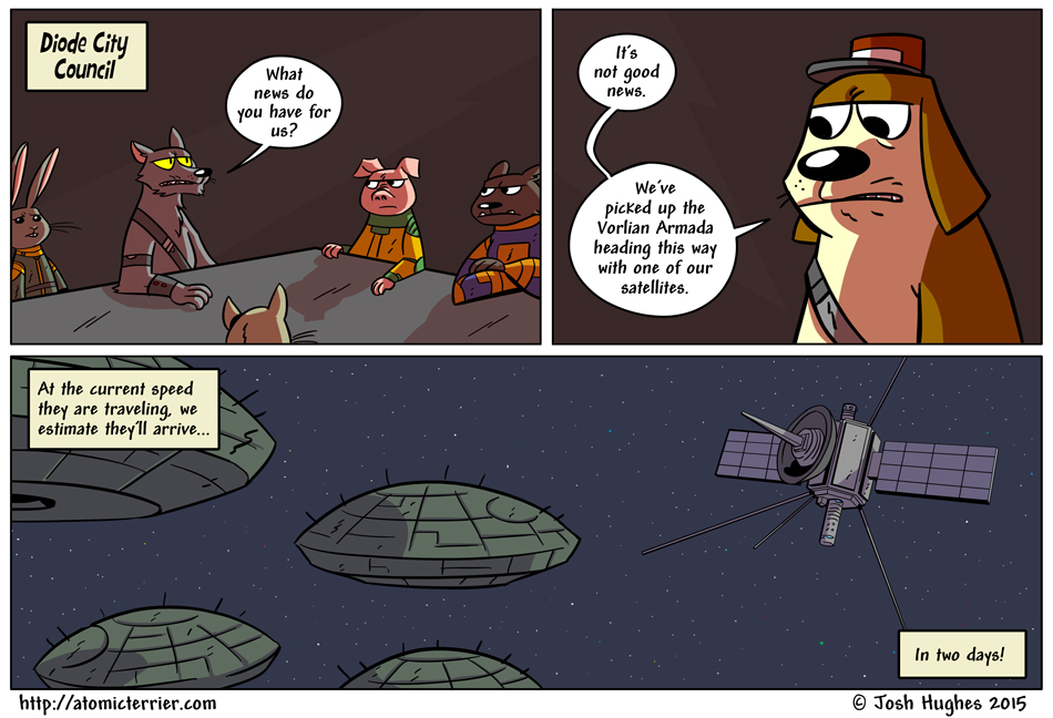 Atomic Terrier comic 600