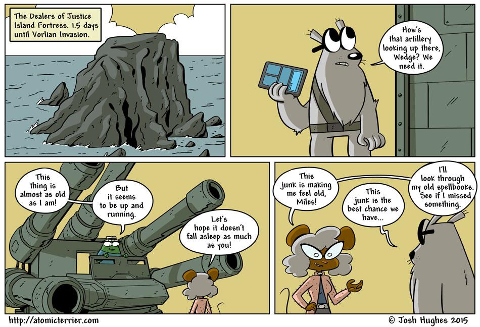 Atomic Terrier comic 602