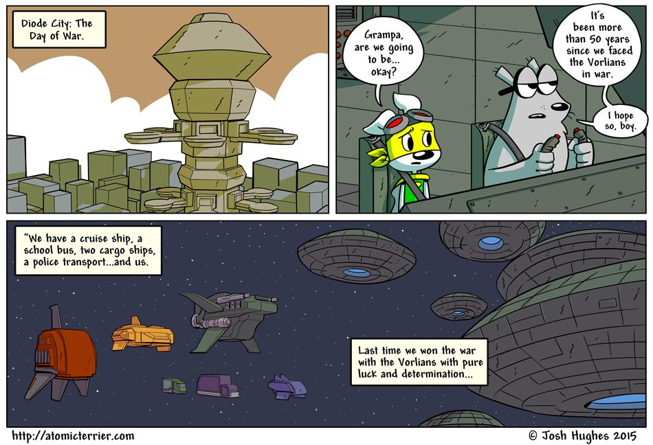 Atomic Terrier comic 606