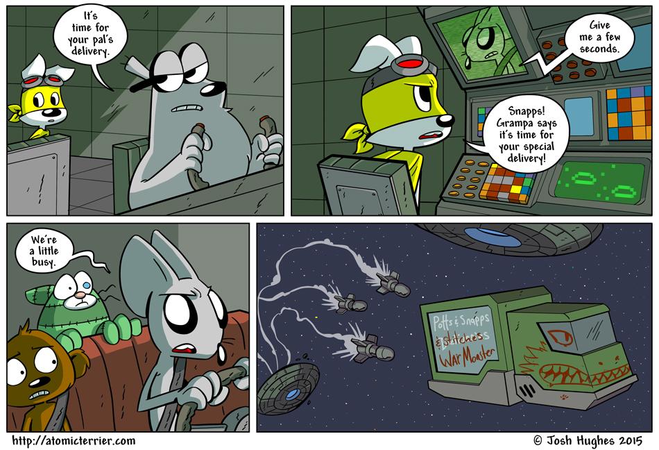Atomic Terrier comic 608
