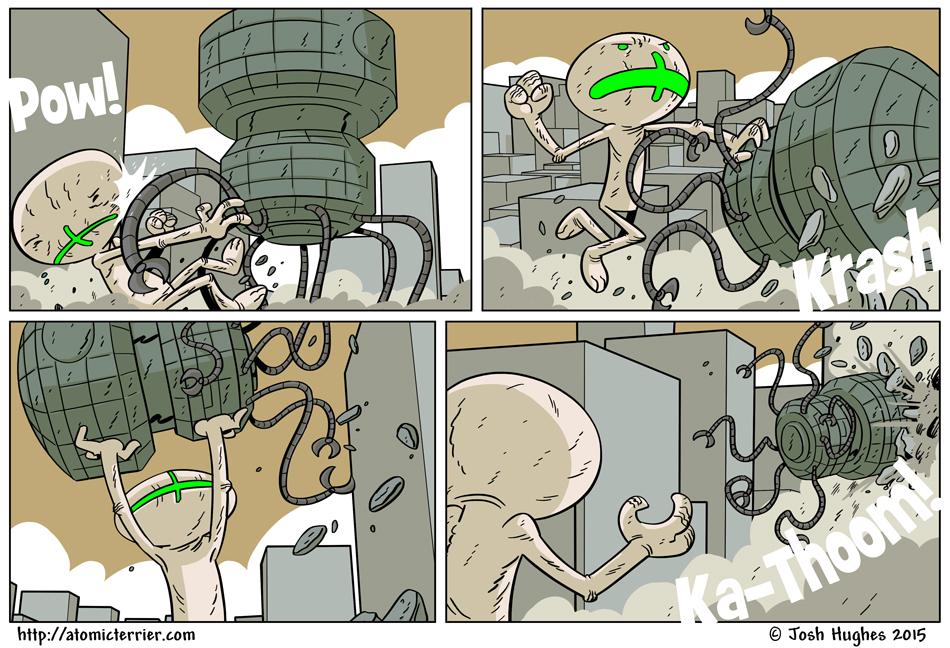 Atomic Terrier comic 623