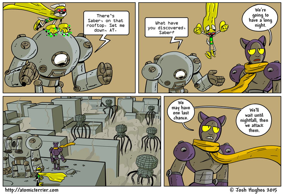 Atomic Terrier comic 627