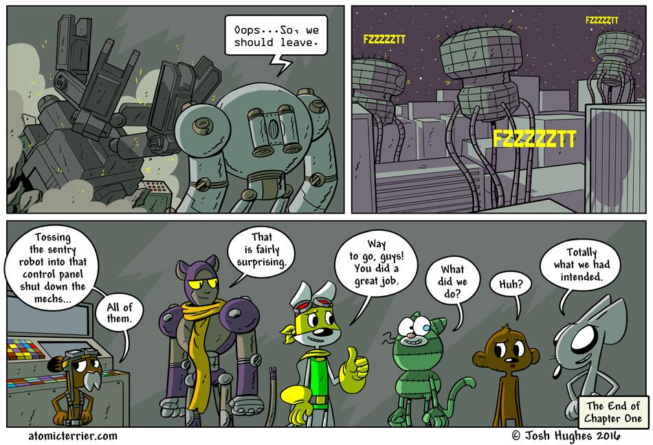 Atomic Terrier comic 642
